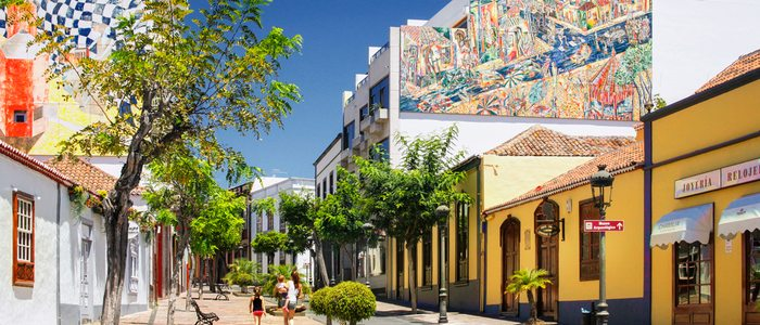 Calle Real en Los LLanos de Aridane. Foto: D.Dahncke. Cedida por: Patronato de Turismo de La Palma.