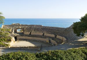 Anfiteatro romano, del siglo II. / Alberich Fotògrafs.