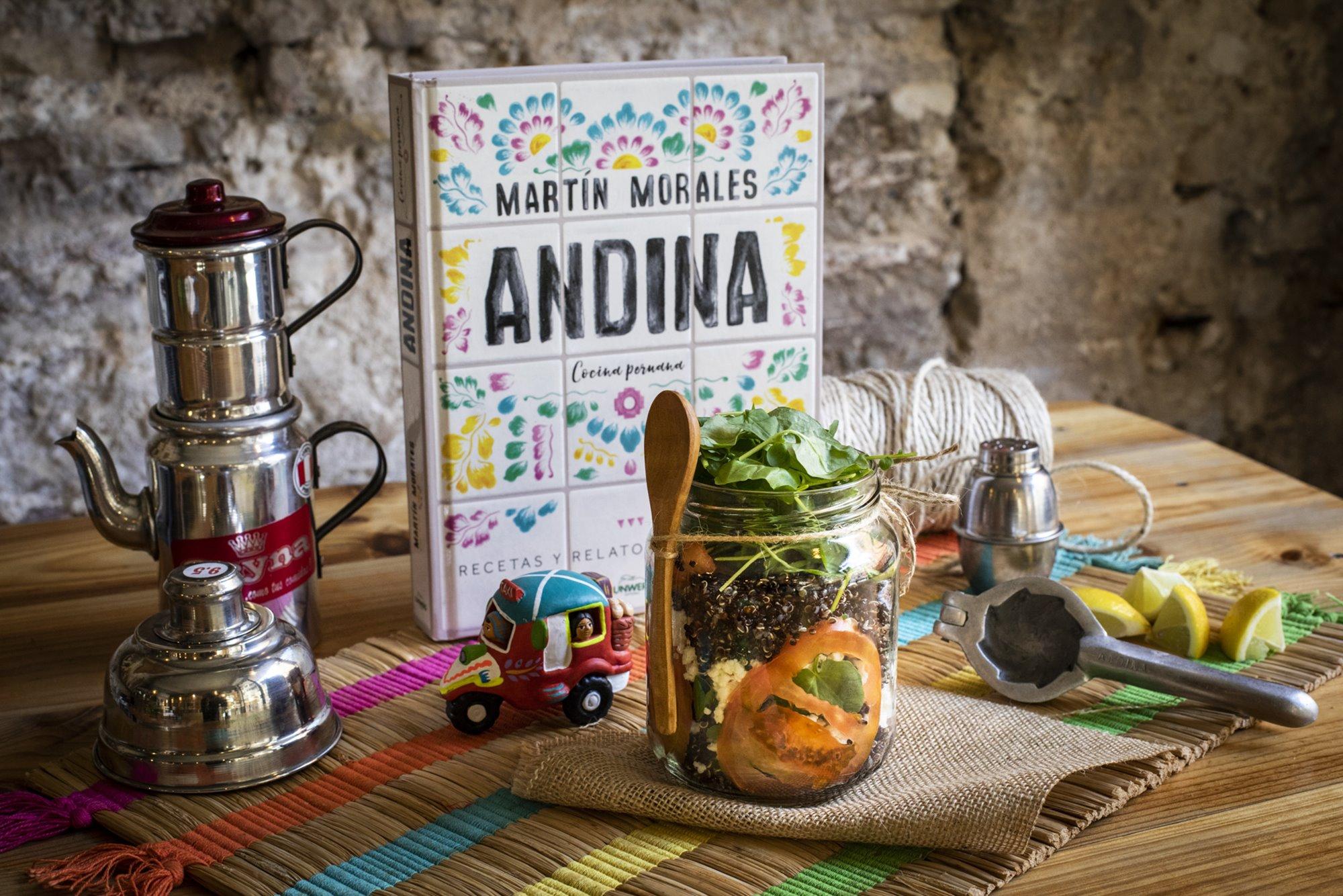 En 'Andina', de Martín Morales, podemos reconocer las tres corrientes más representativas de la gastronomía peruana.