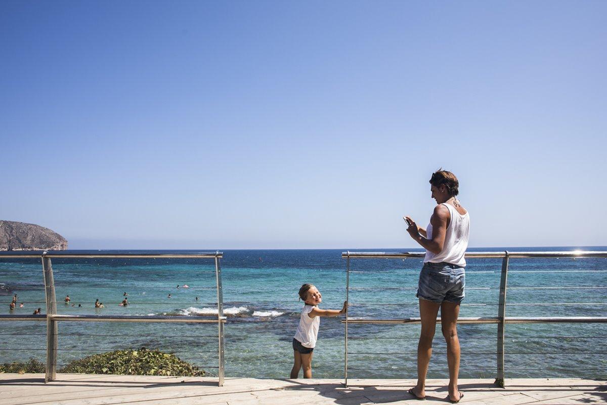 Los niños también se divertirán en la playa de Platgetes.