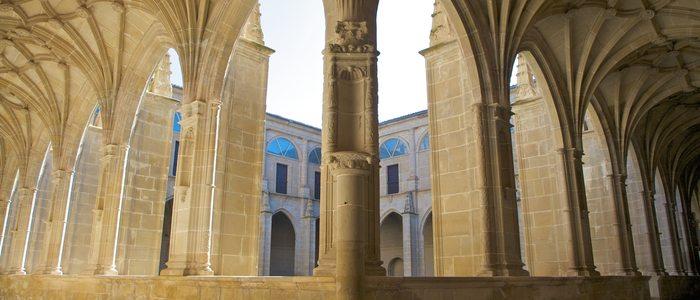 Claustro del Monasterio de Yuso.