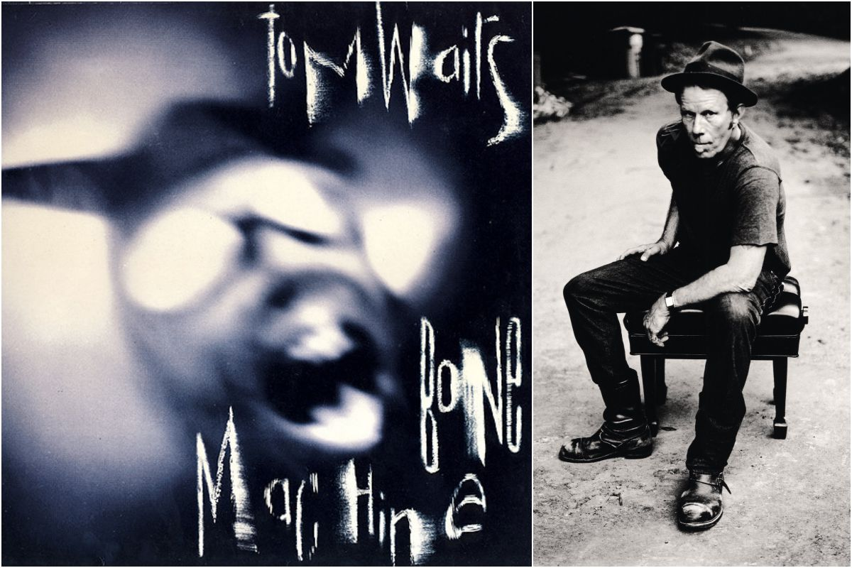 La inconfundible voz de Tom Waits resuena en 'Bone Machine' de una forma espectral. Fotos: Facebook.