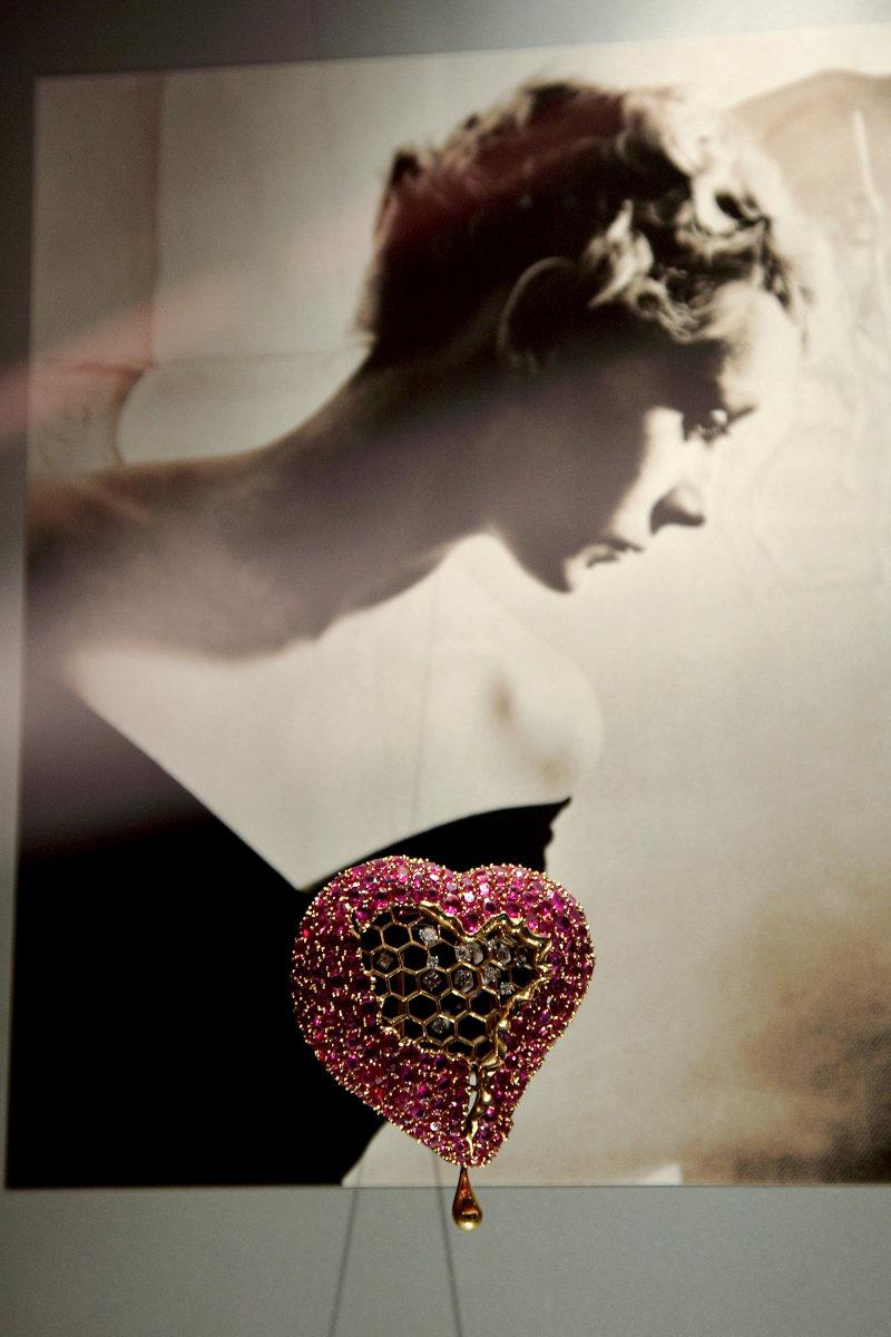 La joya 'El corazón del panal de miel'.