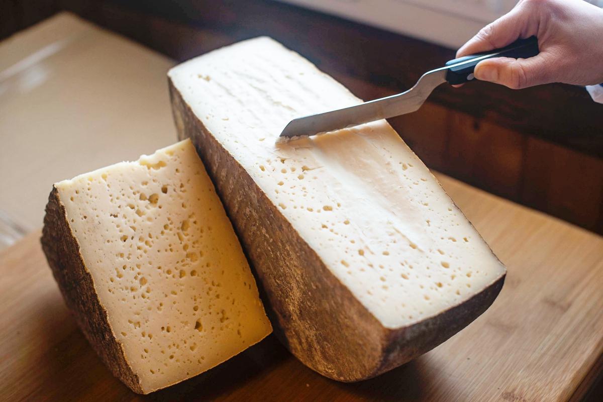 Los quesos de máxima maduración de Elvira García tienen 9 meses.