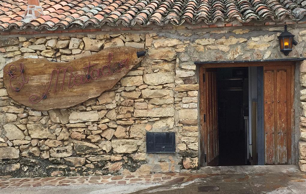 Entrada de El Matador, en una de las cuevas de El Molar. Foto: Aurora Muñoz.