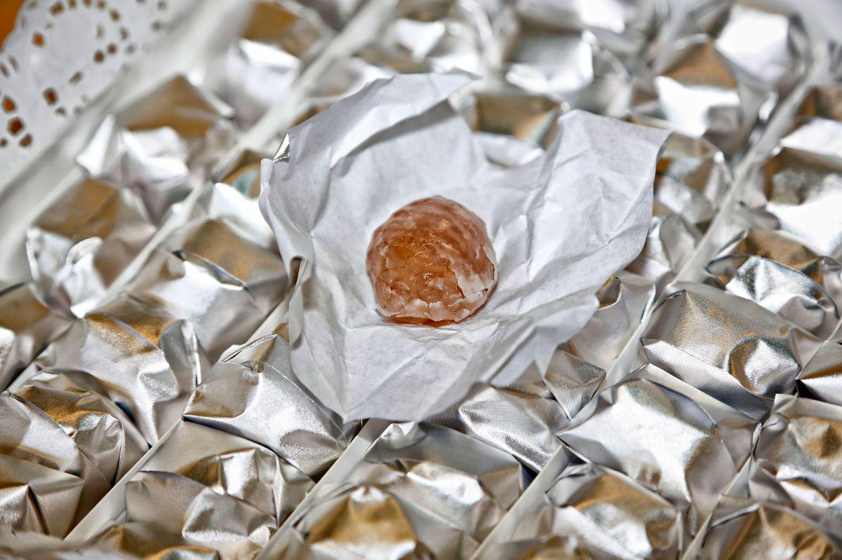 Las 'marrons glacés', uno de los productos gourmet más demandado por los árabes.