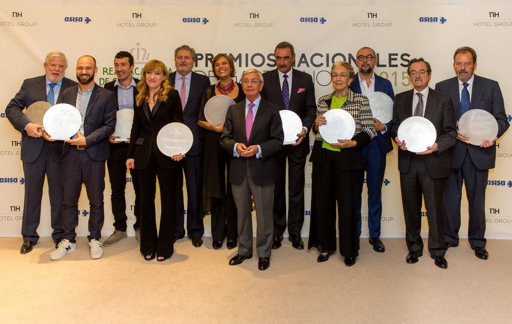 Todos los Premios Nacionales de Gastronomía.