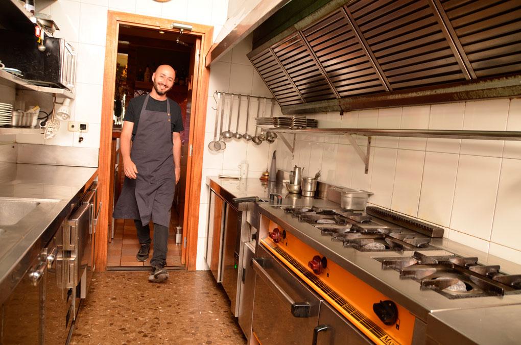 El chef Artur Martínez. Foto: Capritx.