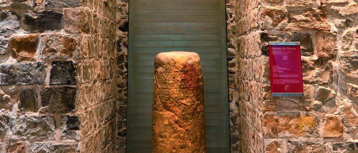 Miliario romano en Castro Urdiales.