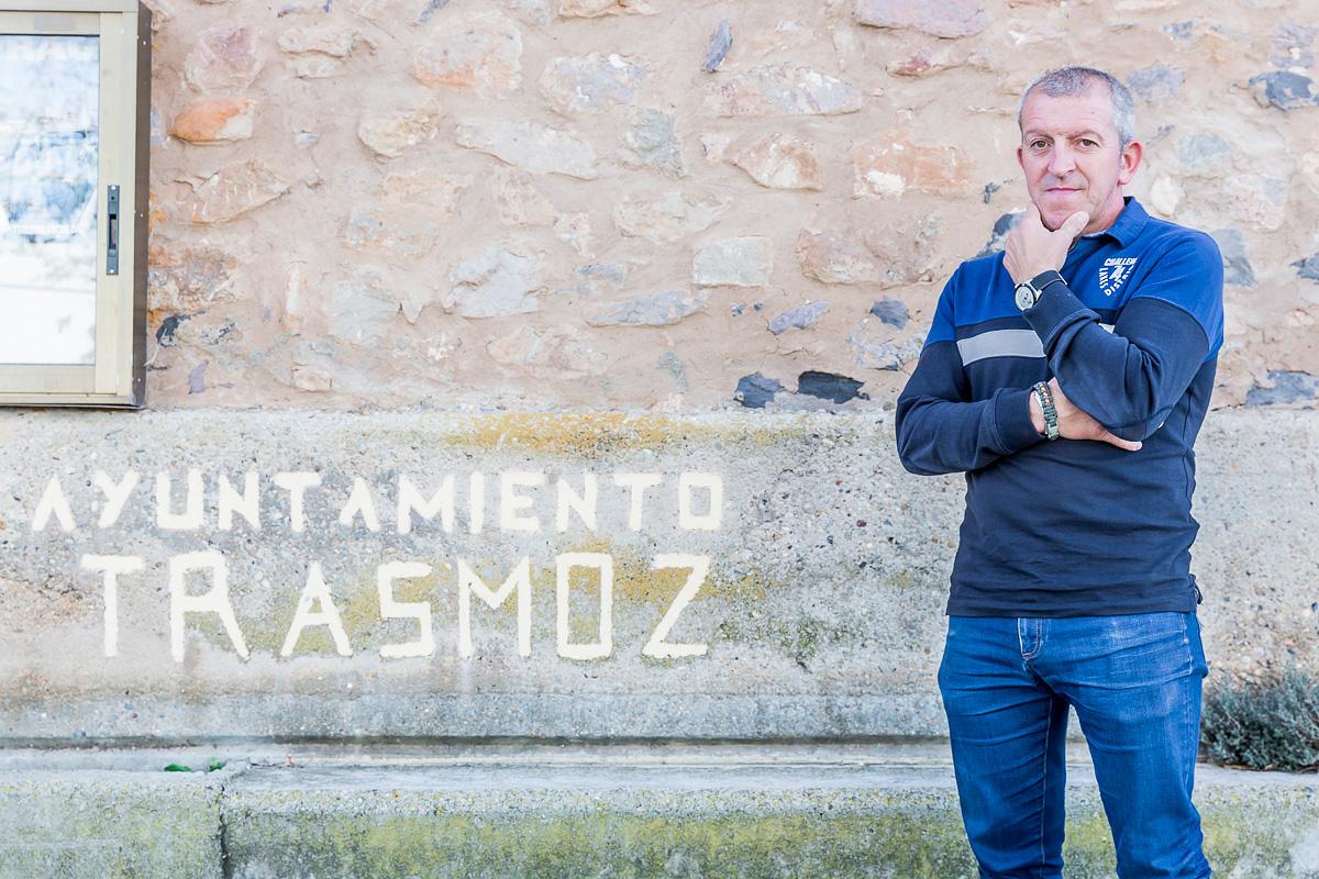 Trasmoz: Jesús Andía, alcalde del pueblo. Foto: Ferrán Mallol