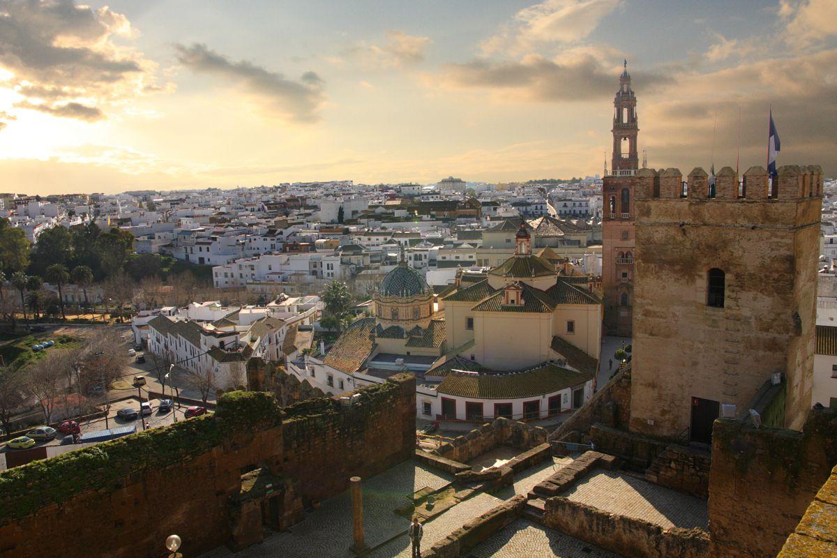 Carmona vista de la parte más alta de la ciudad. Foto: Shutterstock.