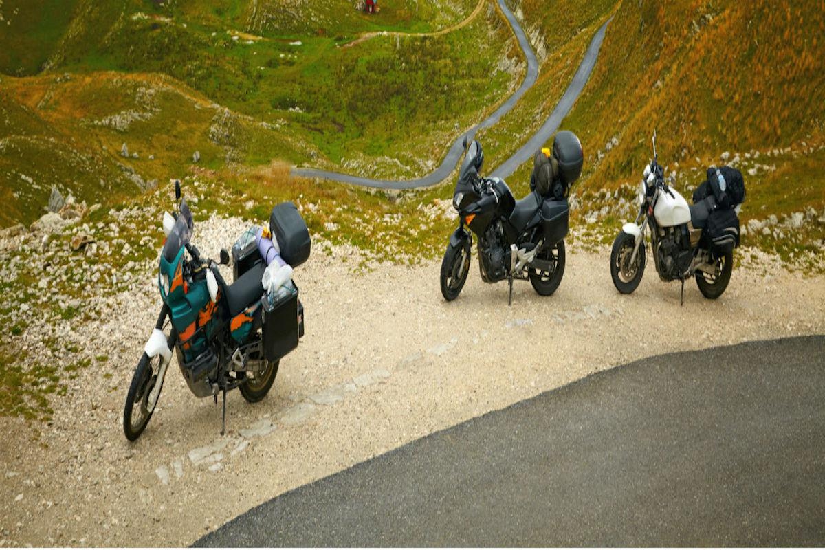 Ruta en moto por el Montseny.