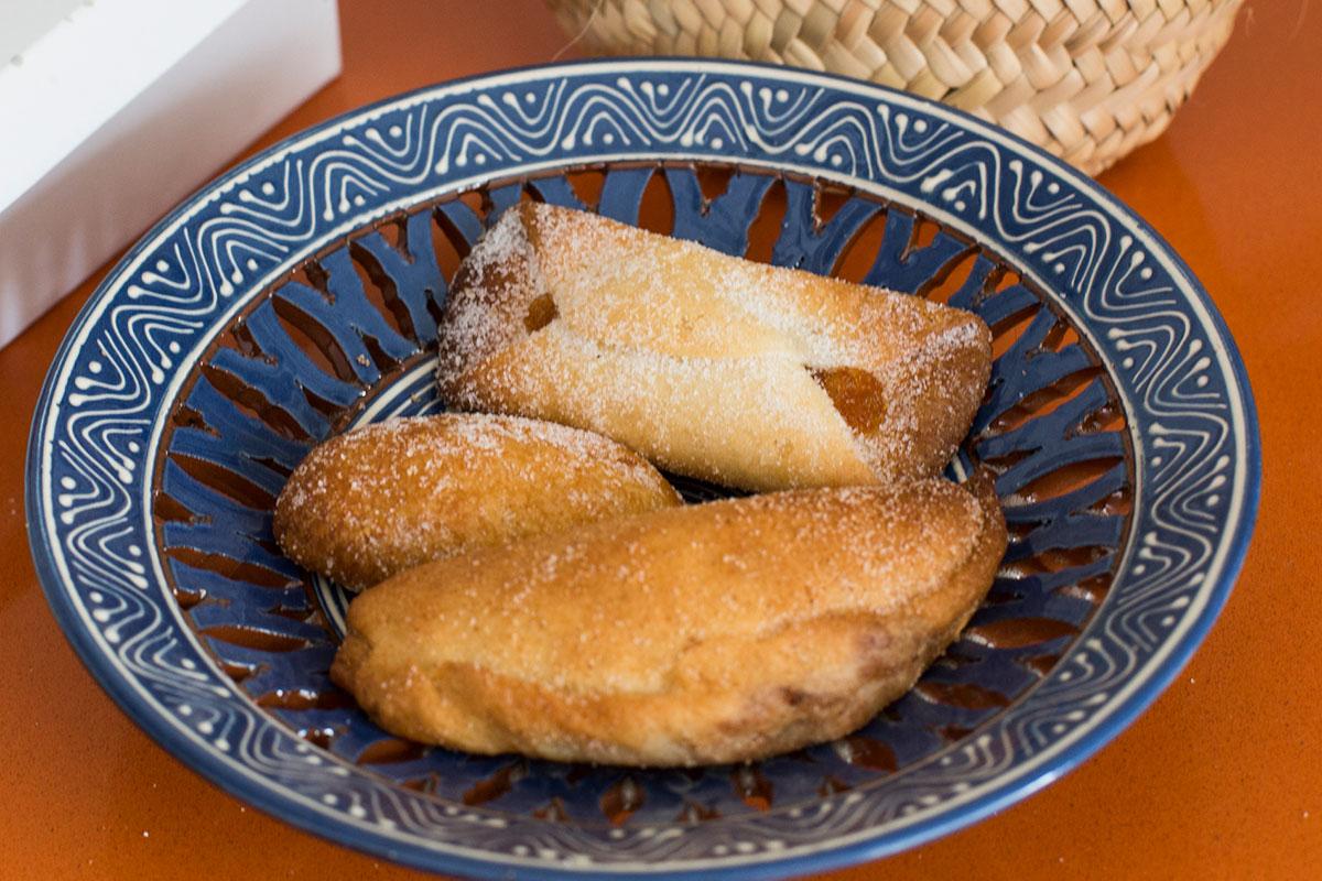 Los 'flaones', uno de los dulces típicos de la zona de Morella.