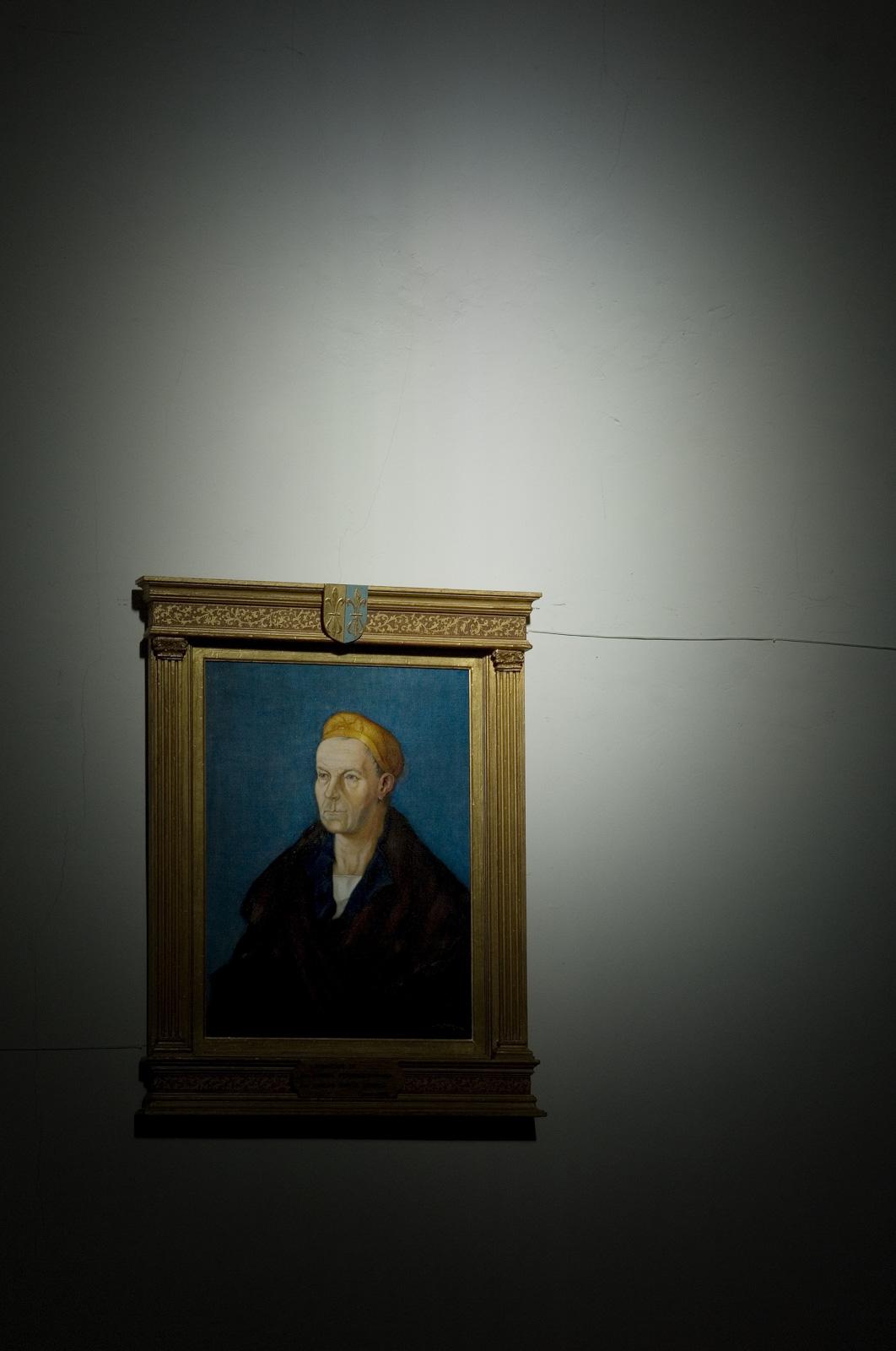 Un retrato de Durero resplandeciendo entre la umbría. Manuel Ruiz Toribio.