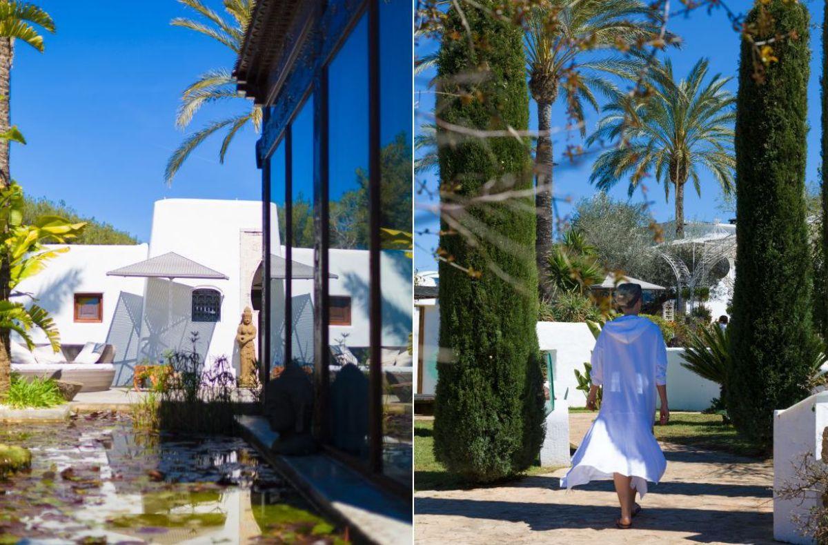 El Spa del 'Atzaró' cuenta con tratamientos especiales como el masaje de ayurveda.
