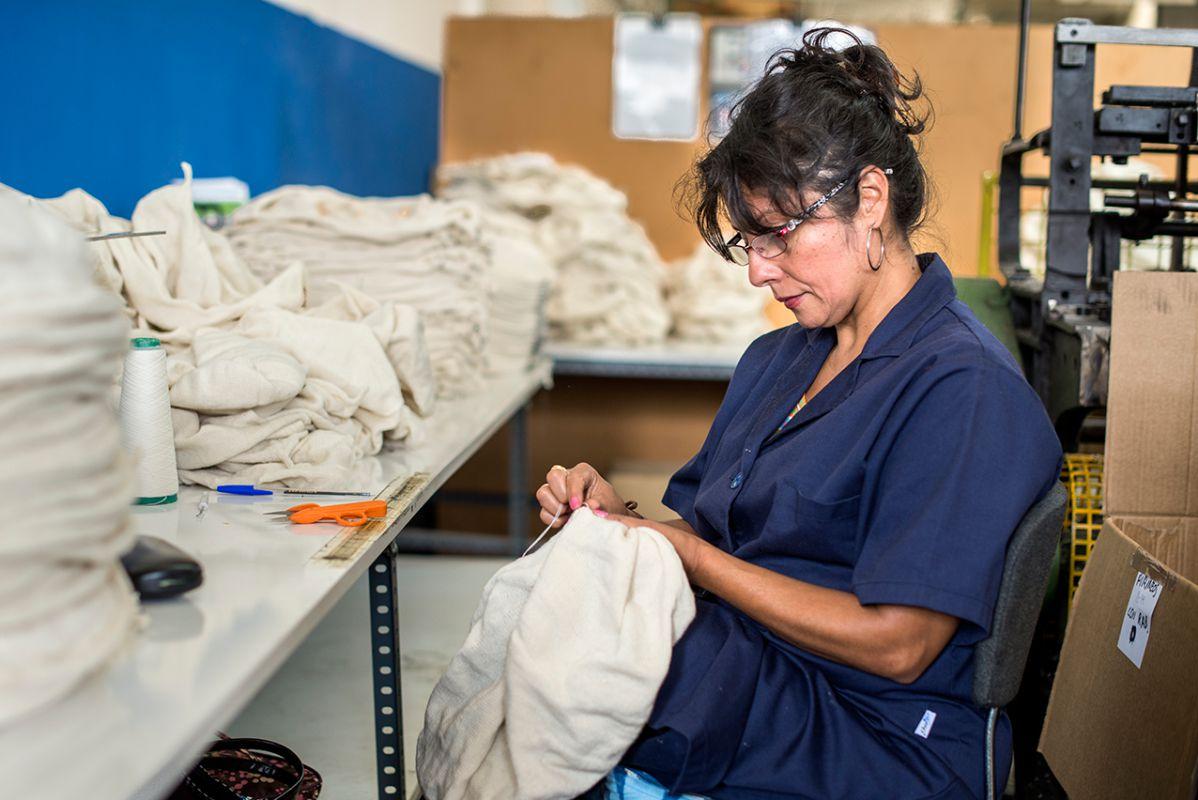 El trabajo de las boinas, un proceso aún artesanal desde hace décadas.