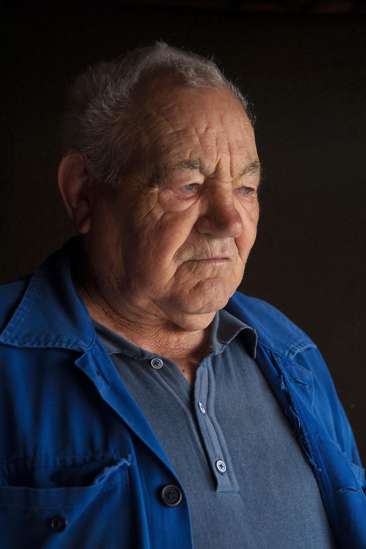 'El Kiko', el último pescador de la Puebla de Don Rodrigo.