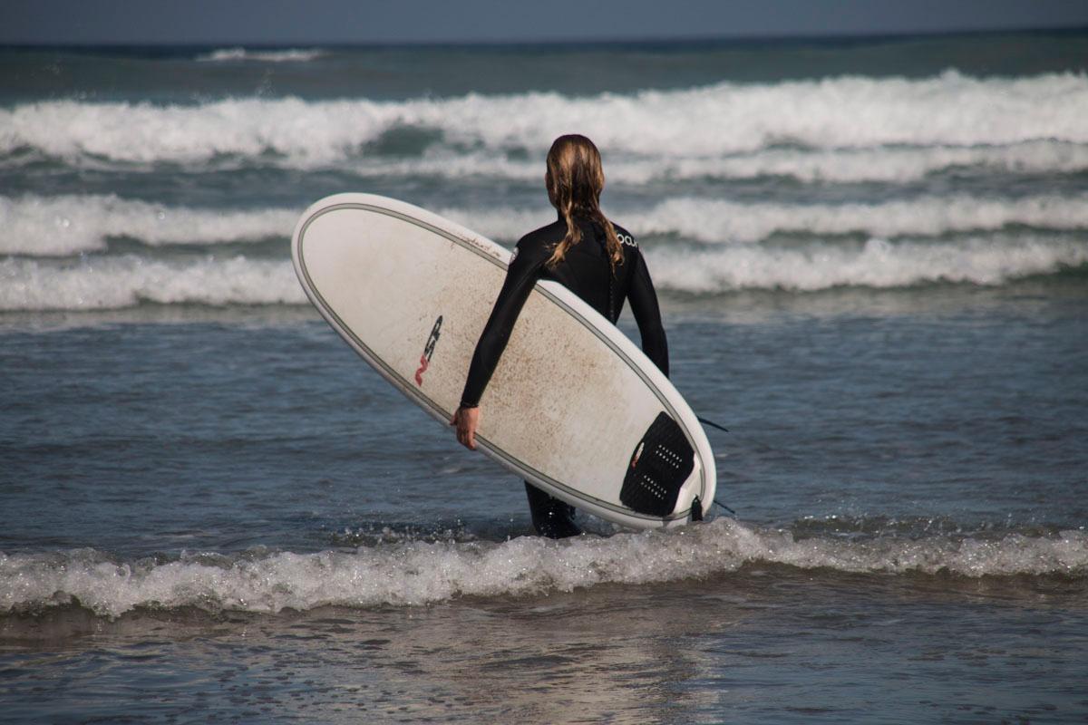 Las olas de la isla son, en definitiva, el sueño de cualquier surfero.