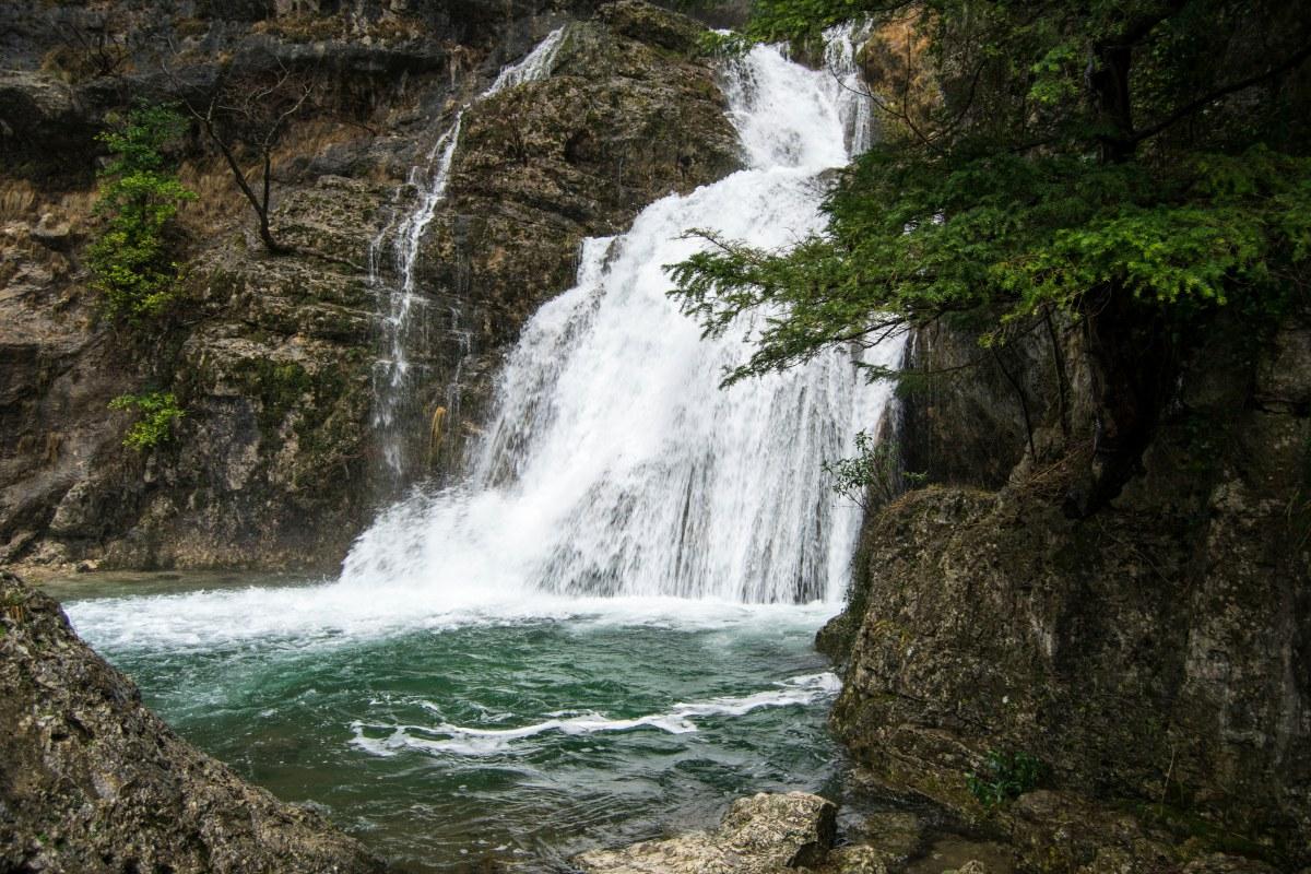 Un Niágara manchego que puede dejar caer 100.000 litros de agua. Foto: Shutterstock.