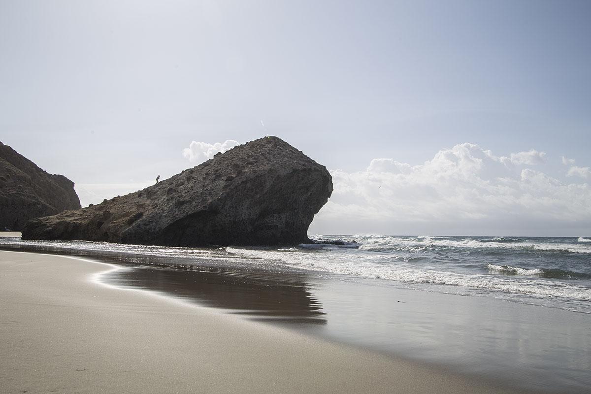 Playa de Mónsul.