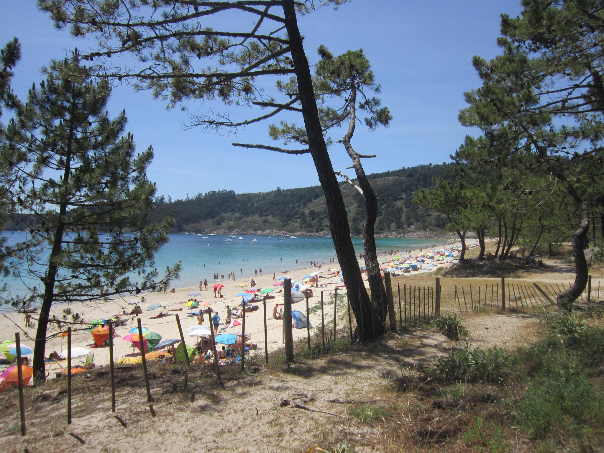 Barra, uno de los arenales nudistas más bellos de Galicia. Foto: Pepe Martin, Flickr.