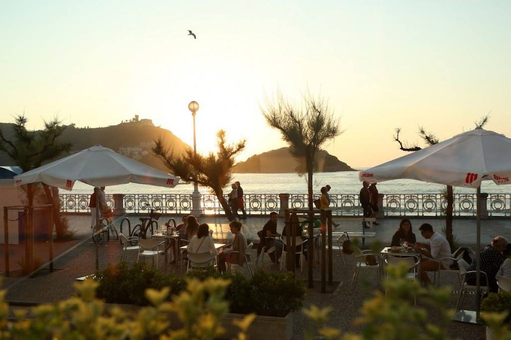 La terraza del restaurante 'Narru', apetecible al cien por cien. Foto: Facebook.