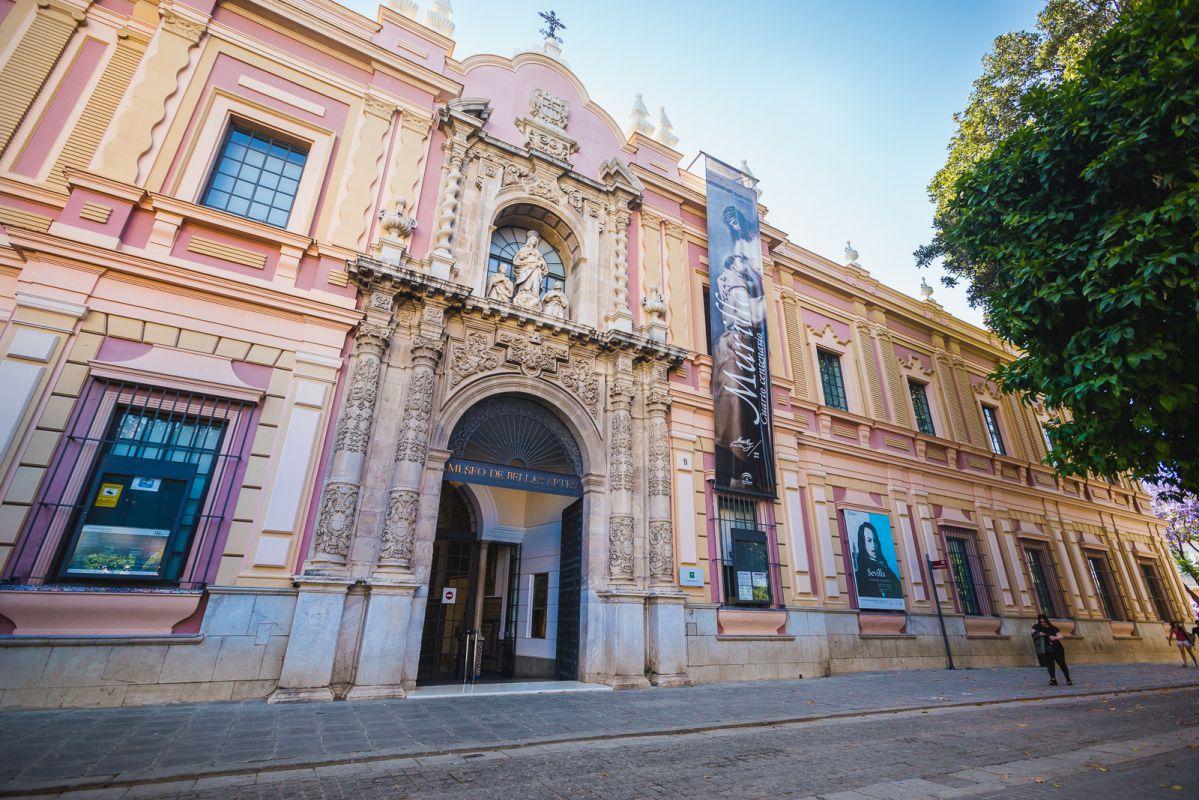 Exterior del Museo de Bellas Artes de Sevilla.