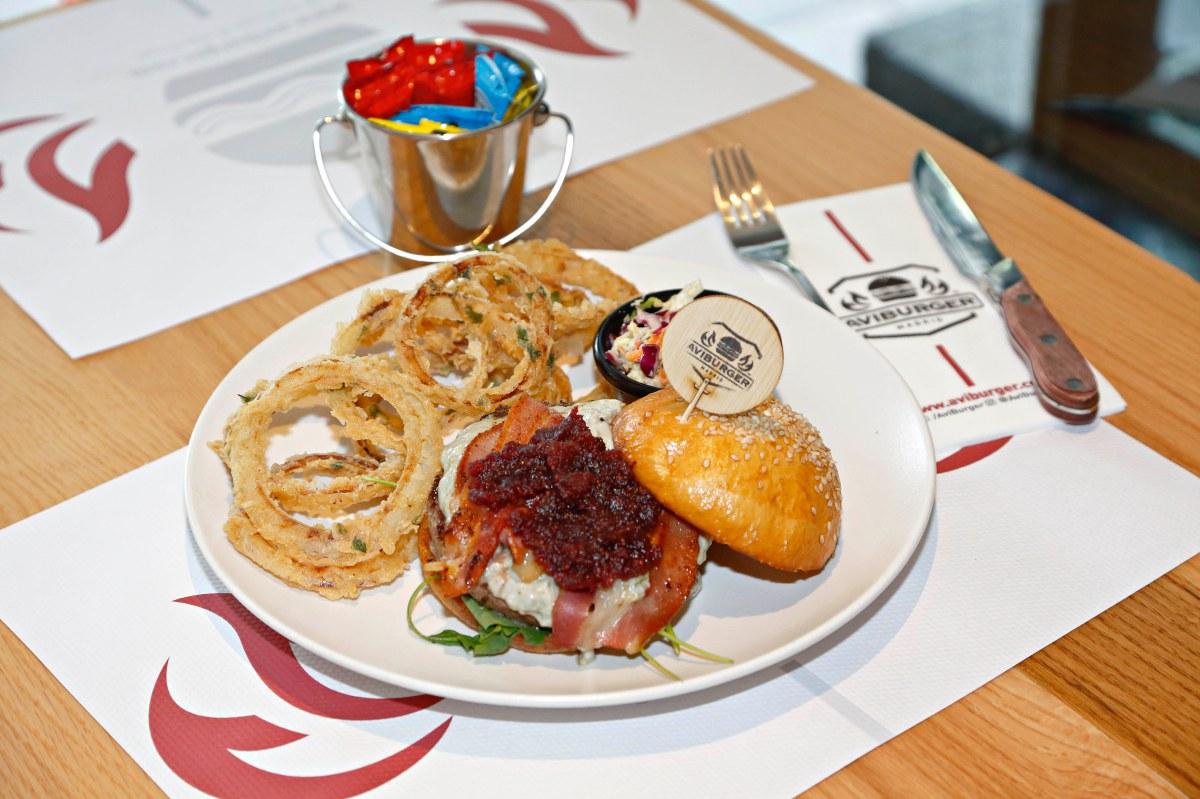 Si te gusta el queso cabrales, esta es tu hamburguesa: La 'Picos de Europa'.