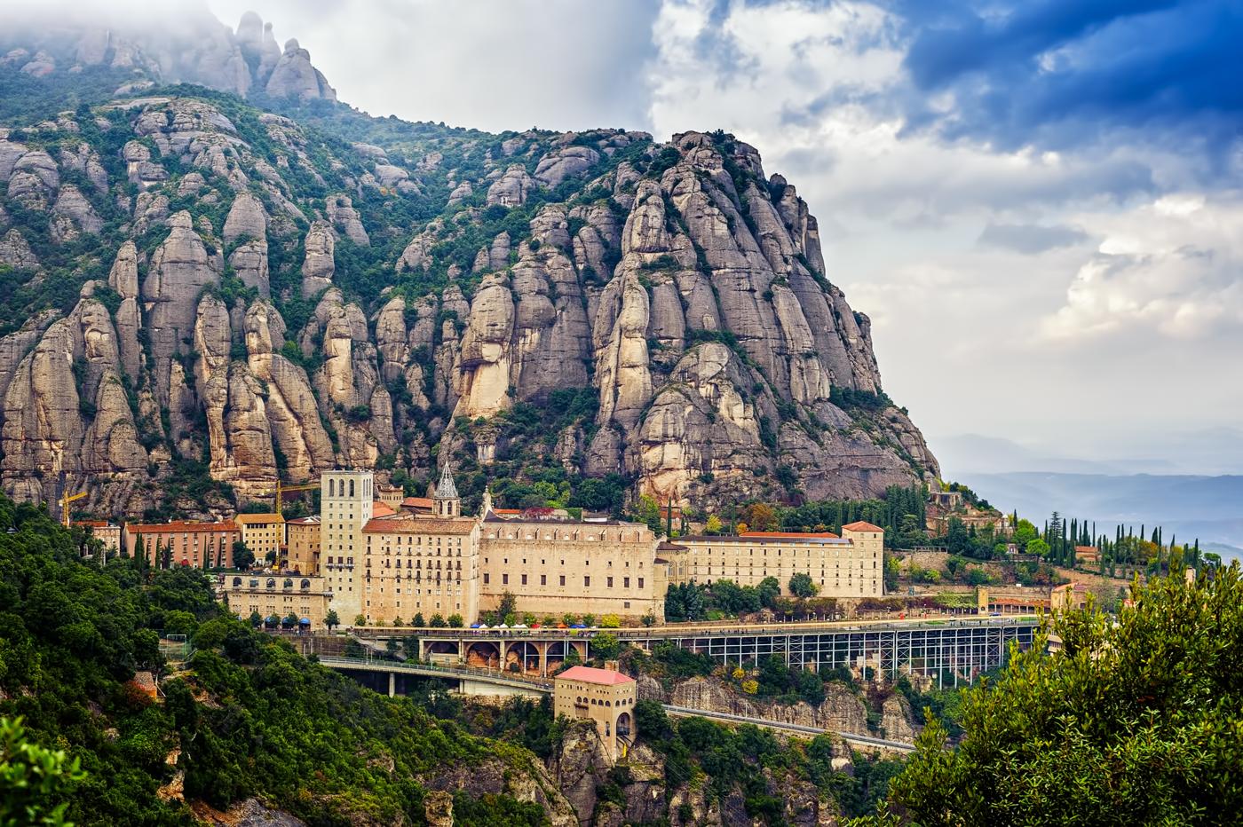 El monasterio de Montserrat, pura belleza. Foto: shutterstock.