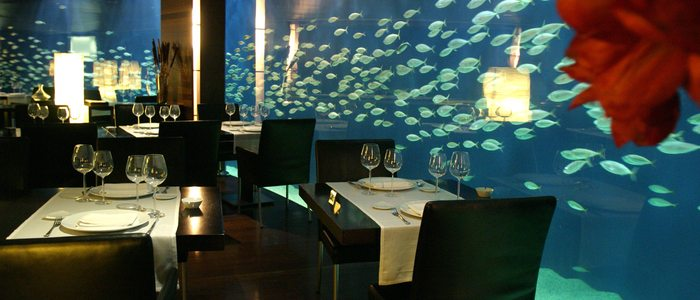 Restaurante submarino.