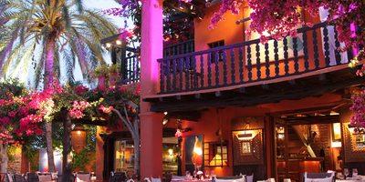 Restaurante Las Dos Lunas.