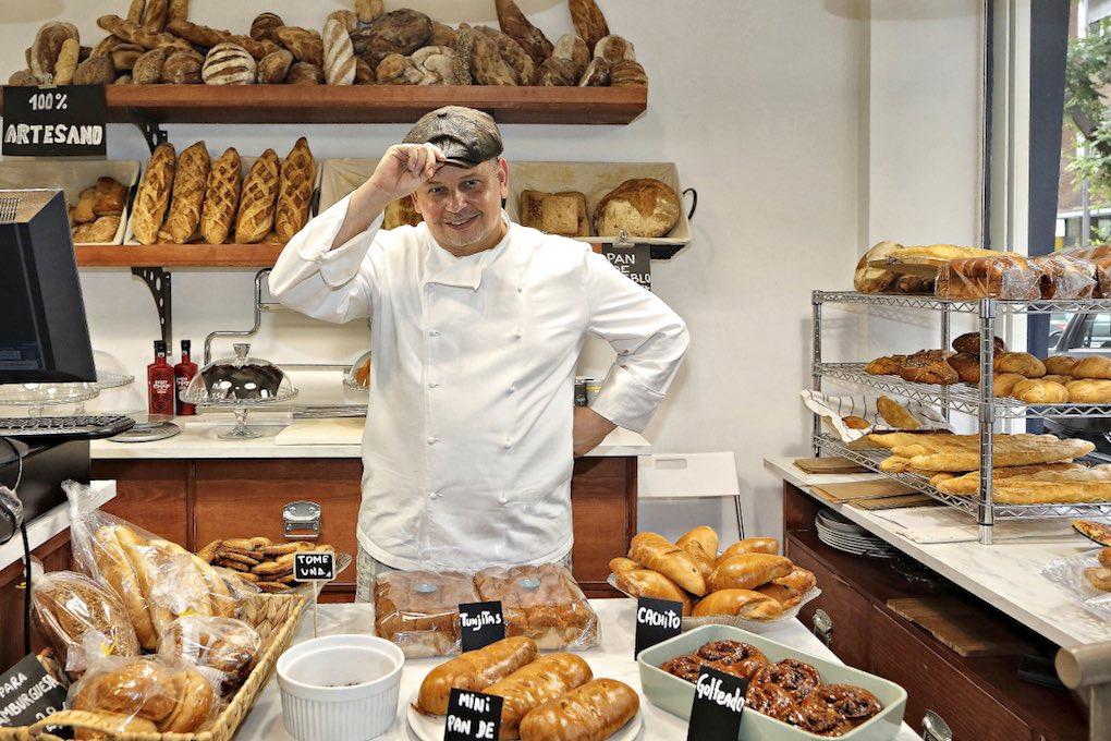 Panes artesanos de 'Casabe Bakery'. Foto: Roberto Ranero.
