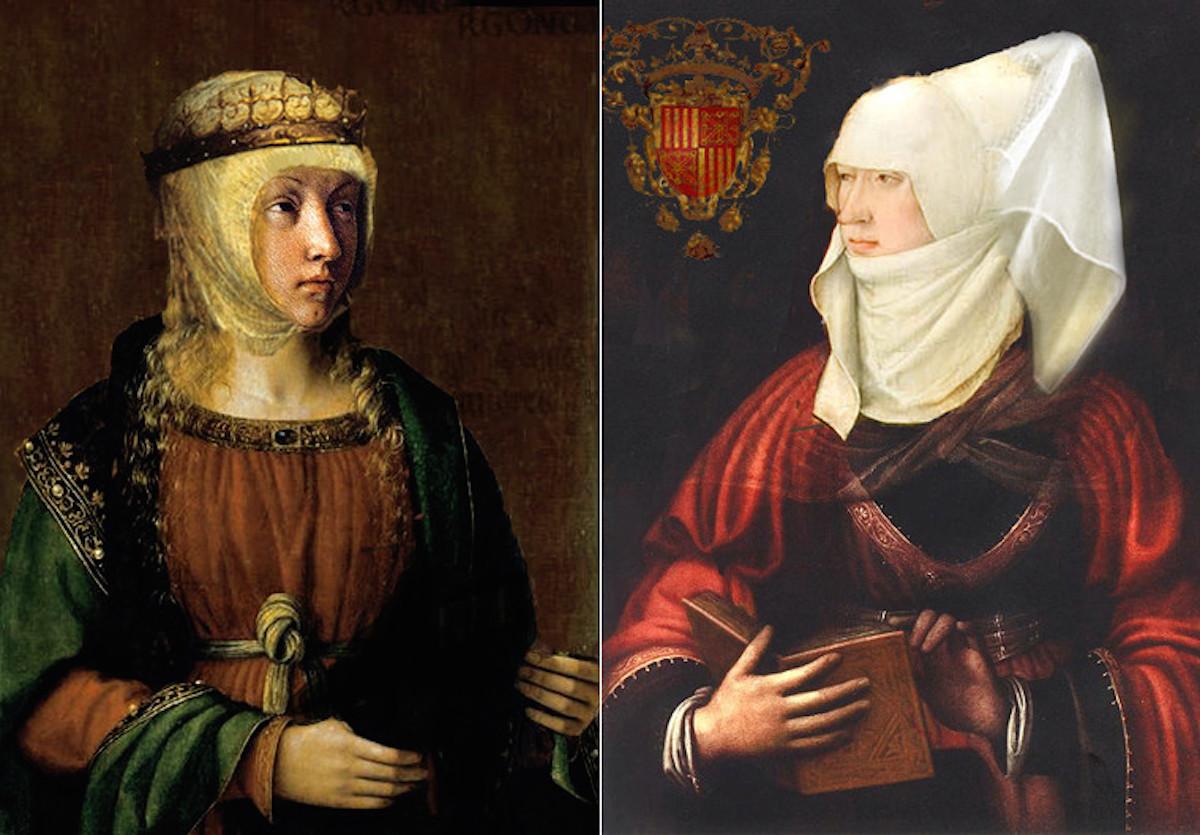 "Bécquer creyó vislumbrar a Leonor de Trastámara o a Blanca de Navarra ""en alguna gótica ventana"" del palacio."