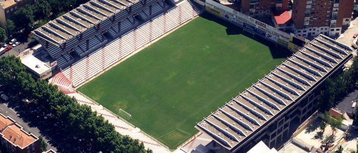Estadio de Vallecas. / Cedida por: Rayo Vallecano.
