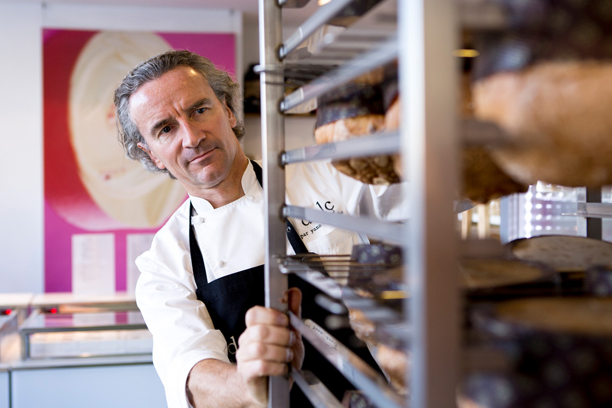 El pastelero Yann Duytsche aprendió todo lo que sabe de este dulce en Italia.