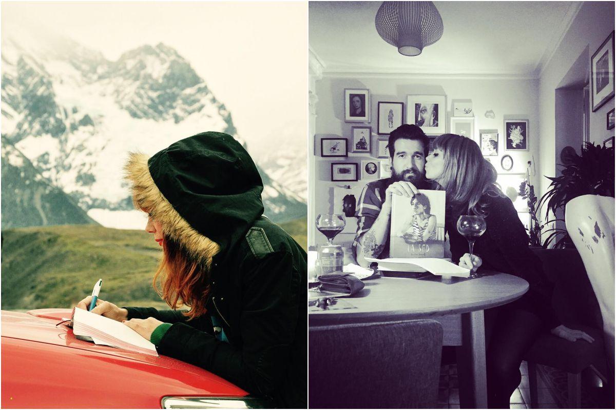 En Torres del Paine, en Chile, y con 'La Sed' y Aitor Saraiba, con quien ha trabajado en 'Por el olvido'. Fotos: Instagram.