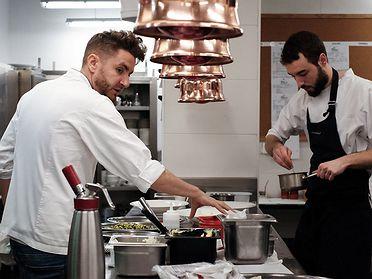 Restaurante 'Alma Pamplona' de Leandro Gil (Navarra)