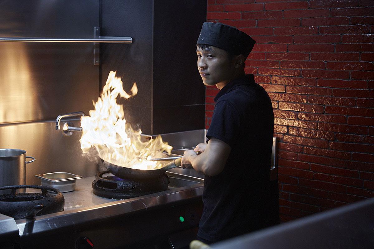 La cocina del 'Mr. Kao' trasciende la carta tradicional china.