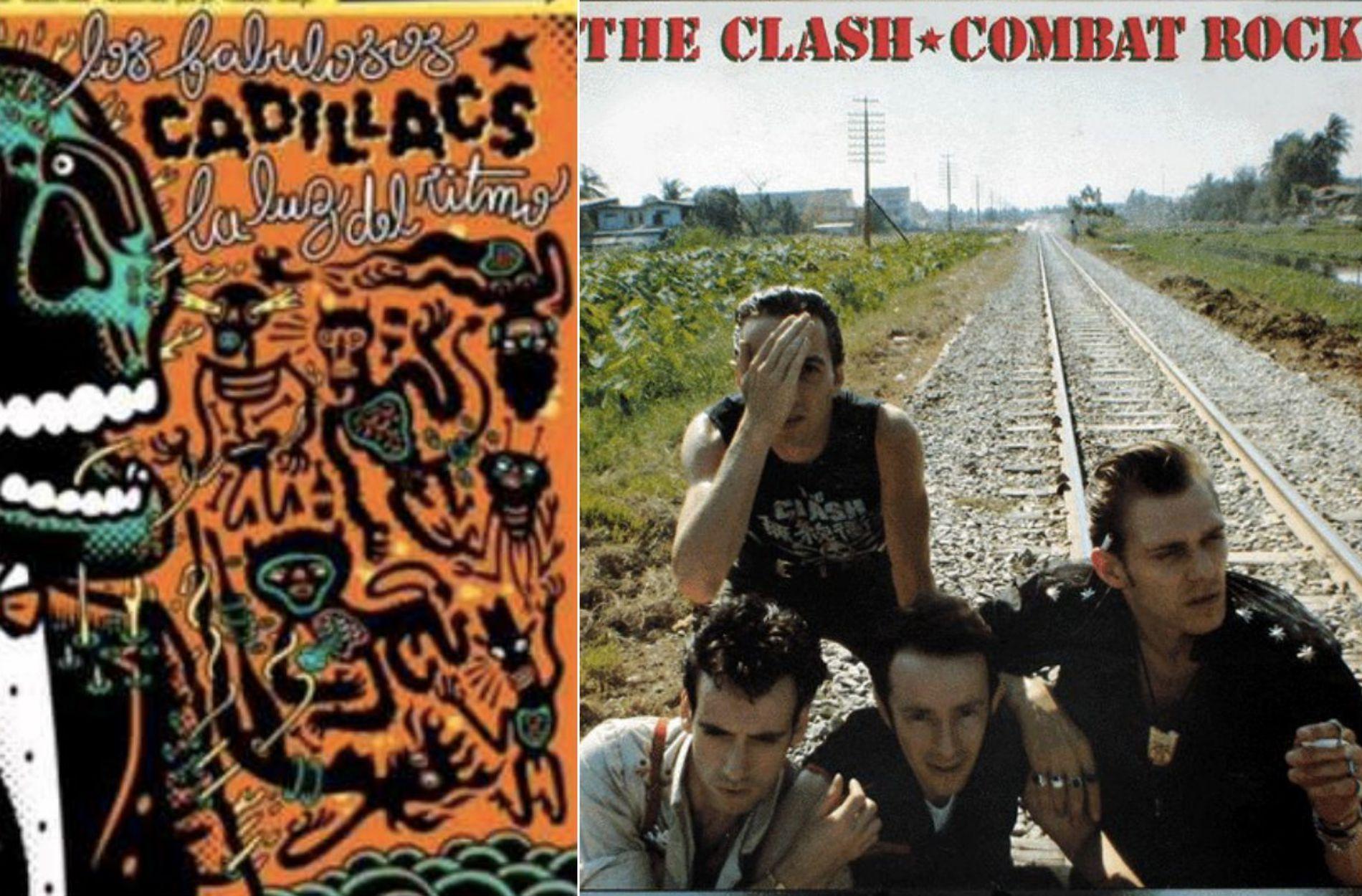 Los Fabulosos Cadillacs interpretaban en este disco uno de los himnos de The Clash con mucho acierto. Fotos: Facebook.