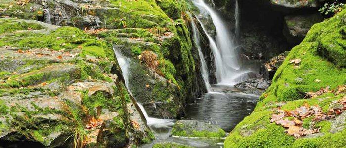 Cascadas del río Toxa.