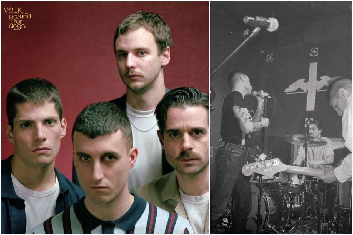 Portada del último disco de Vulk y un momento durante una actuación del grupo. Fotos: Facebook.