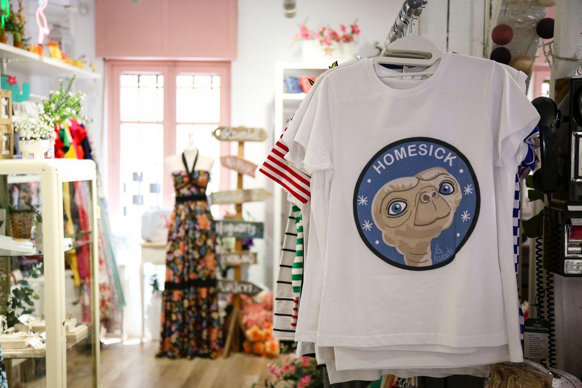 ETE protagoniza una de las camisetas de la Señorita Naif.