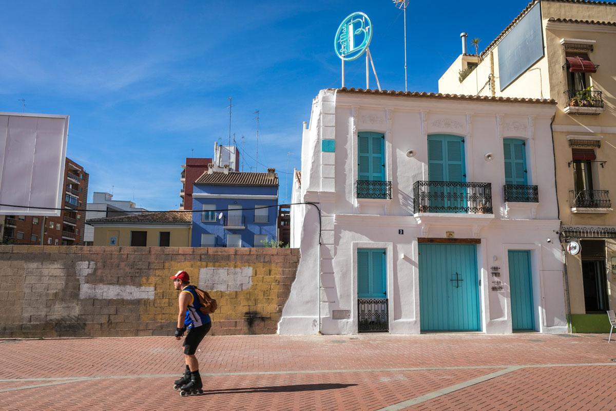 La fachada de 'La Casa del Puerto' es inconfundible.