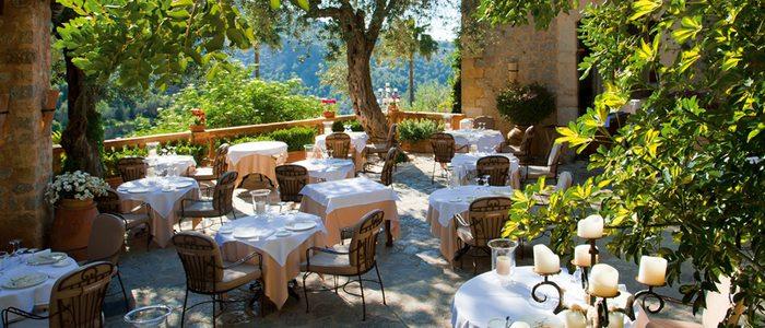 Restaurante de La Residencia.