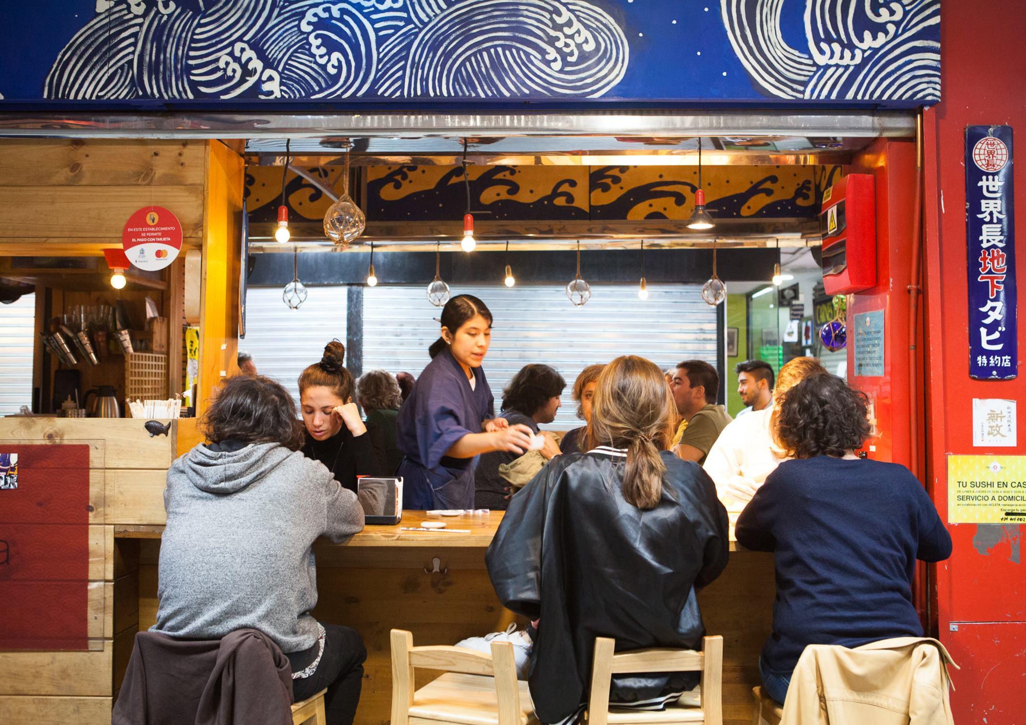 El 'Yoka Loka' fue de los primeros puestos de mercado de sushi en España, allá por el 2007.