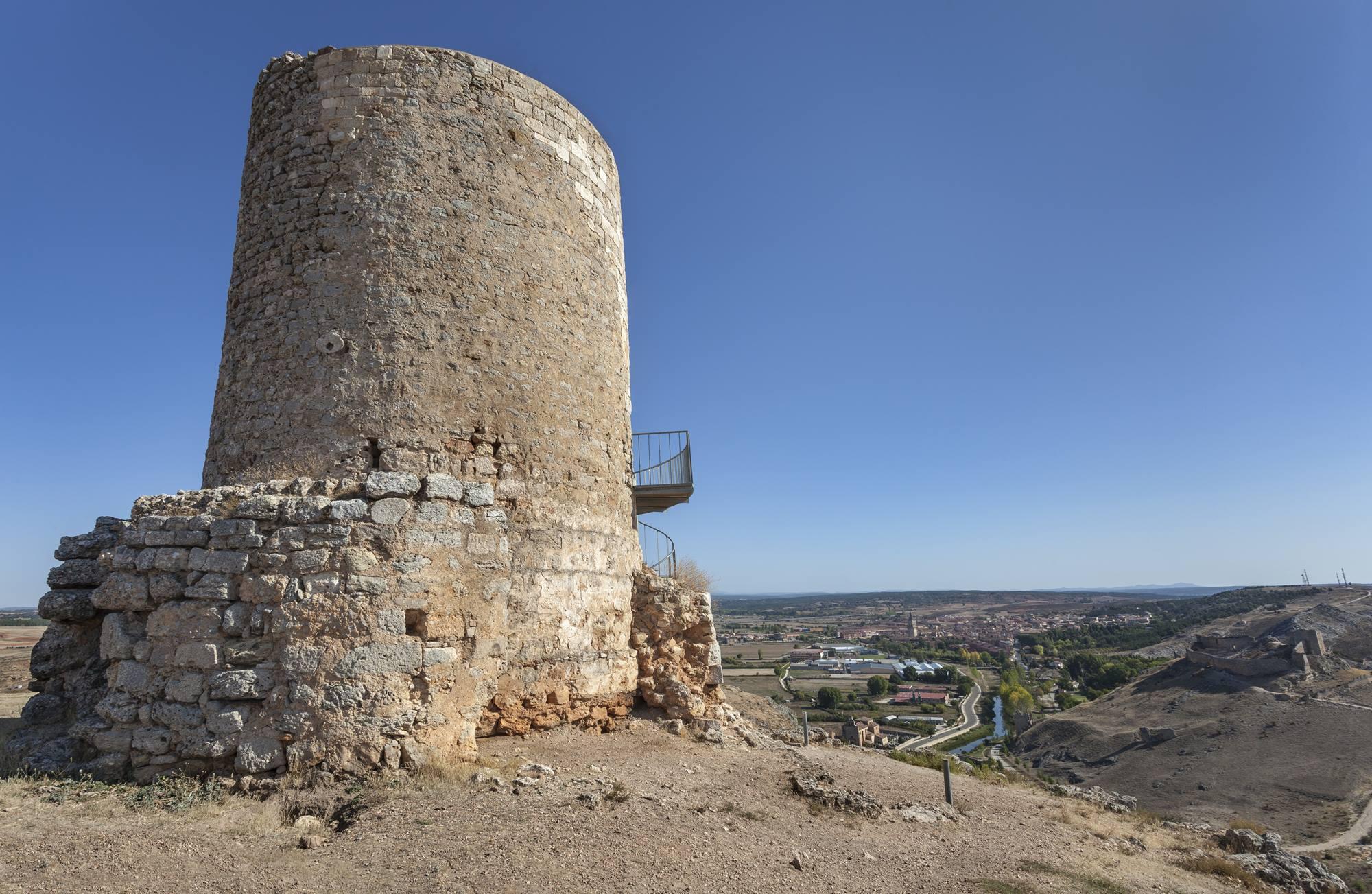 Uno de los múltiples restos de la época romana en El Burgo de Osma, antigua Uxama. Foto: Shutterstock.