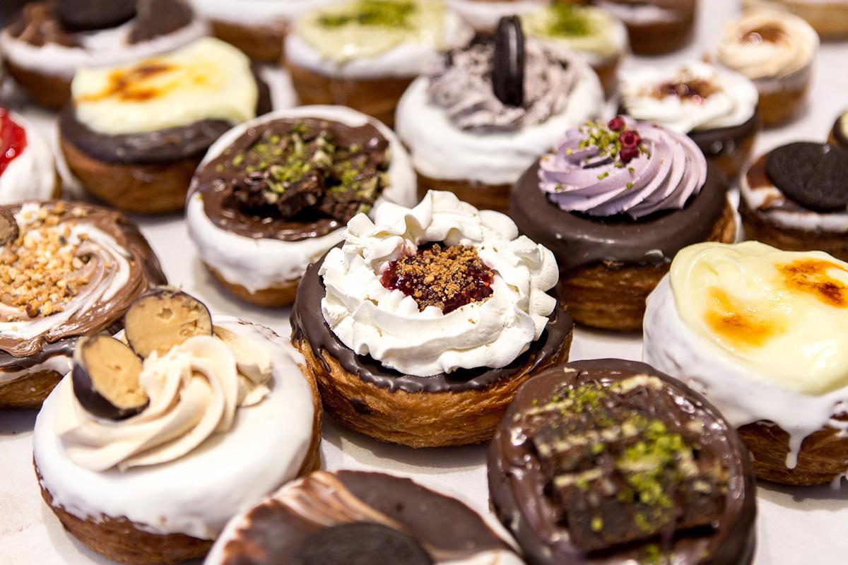 Los 'krönuts' aúnan lo mejor del 'croissant' y el donut.
