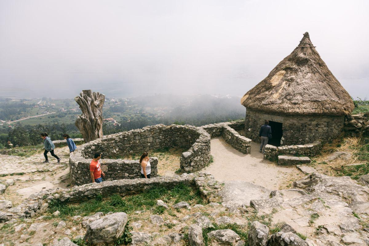 El monte de Santa Trega (A Guarda).