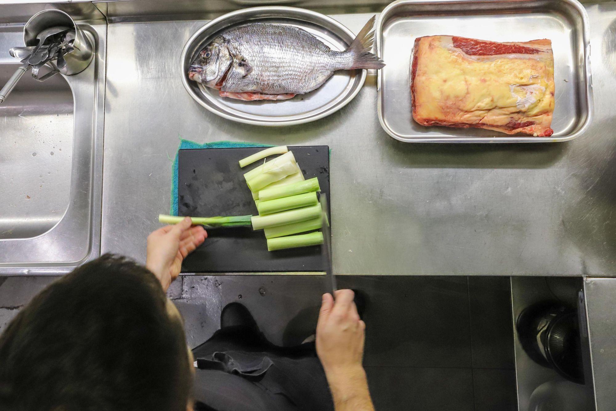 En cada uno de sus platos, no se incluyen más de tres ingredientes.