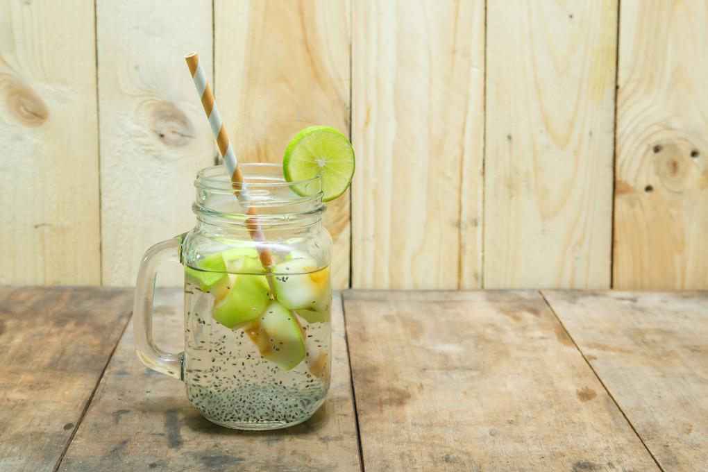 Agua de chía. Foto: Shutterstock.